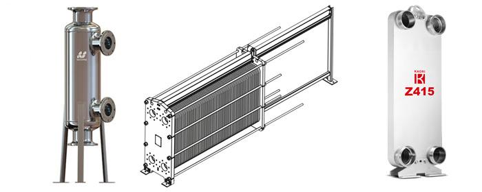 3d-модель пластинчатого разборного теплообменника