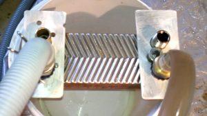 Химическая промывка паяного теплообменника