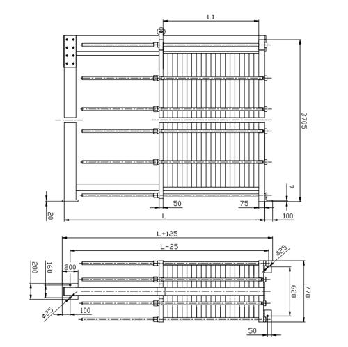 Схема теплообменника S220