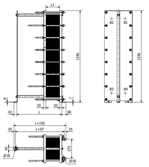 Схема теплообменника S31A