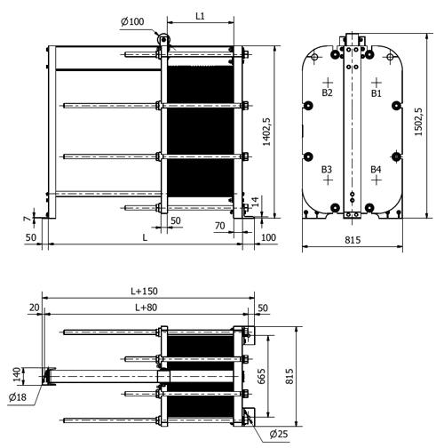 Схема теплообменника S43