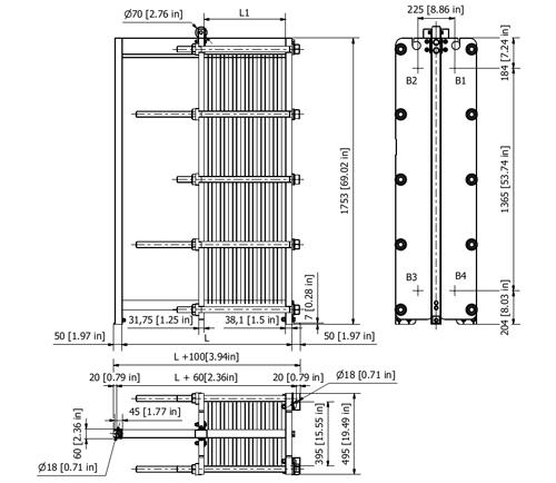 Схема теплообменника S47