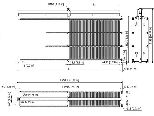 Схема теплообменника S62