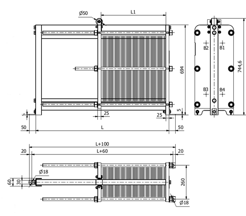 Схема теплообменника S7A