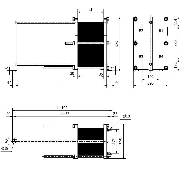 Схема теплообменника S9A